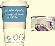 Coffee | To-Go Becher | Prinz | Postkarte | One - Night - Stand | Kaffeebecher | Tasse | Preis am Stiel®