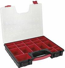 Cogex Aufbewahrungsbox, Kunststoff, grau, 72120