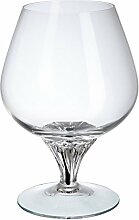 Cognac Glas Bohemia Ebano Weinglas, Glas, Schwarz,