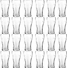 Cola 24er Set Coca Gläser Trinkbecher aus Glas