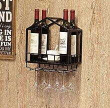 COLiJOL Flaschenhalter Weinhalter Hängendes
