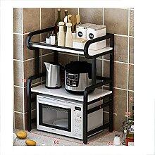 COLiJOL Küche Lagerregal Küche Mikrowellenregal