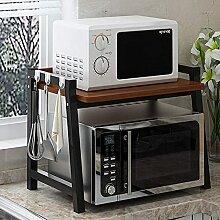 COLiJOL Küche Lagerregal Mikrowelle Regalständer