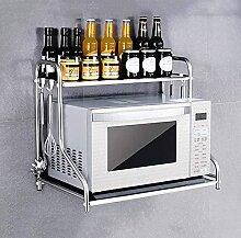 COLiJOL Küche Lagerregal Mikrowellenherd