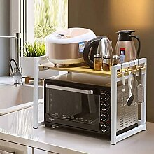 COLiJOL Küche Lagerregal Mikrowellenregal Regal