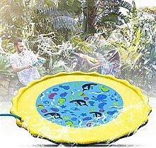 COLiJOL Splash Pad 67' Summer Splash Mat Mit