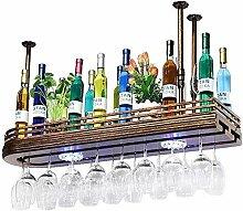 COLiJOL Weinhalter Schwimmende Regale Massivholz