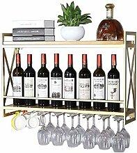 COLiJOL Weinlagerung Schmiedeeisen Wandmontage