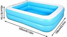 colinsa Aufblasbarer Pool Kinderpool für den