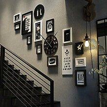 Collage Bilderrahmen für 12 Fotos, Fotorahmen im