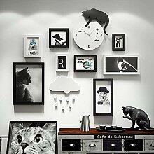 Collage Bilderrahmen für Home Bar KTV Decor, mit
