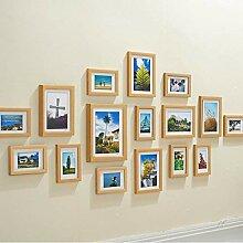 Collage-Bilderrahmen zur Wandmontage, Set mit