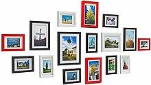 Collage-Fotowand zur Wandmontage, Bilderrahmen mit