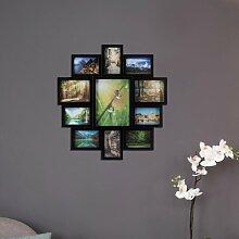 Collage-Rahmen Bolivia Hashtag Home Farbe: Schwarz