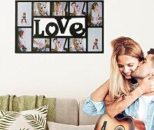 Collage-Rahmen Love 17 Stories Farbe: Schwarz
