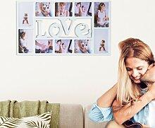 Collage-Rahmen Love 17 Stories Farbe: Weiß