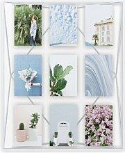 Collage-Rahmen Prisma Umbra Farbe: weiß