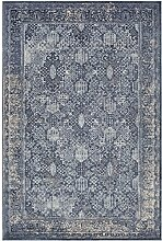 Colleen Teppich, klassisch, 60 x 90 cm, Blau