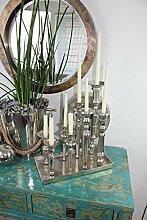 COLMORE Kerzentablett Kerzenständer für 8 Kerzen