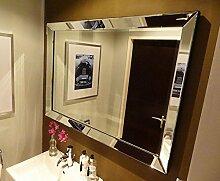 Colmore Wandspiegel 130x70cm mit Spiegelrahmen