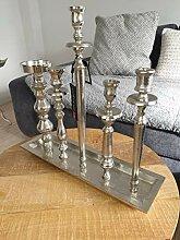 COLMORE XXL 45cm Kerzentablett Kerzenständer