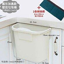 Colo Mülleimer Tür hängen Haushalt Quadrat