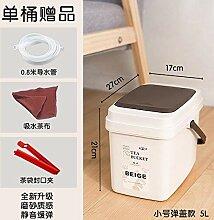Colo Tee Tee Mülleimer Abfalltrompete mit Deckel