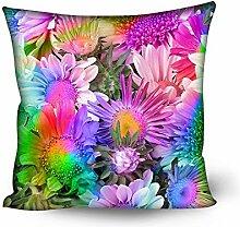 Coloranimal Vintage Floral Kissenhülle für