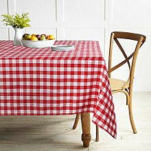 ColorBird Buffalo Plaid Tischdecke Polyester