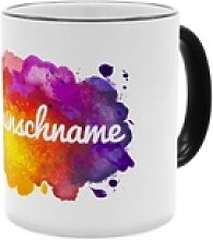Colorpaint - Personalisierter Kaffeebecher (Farbe: