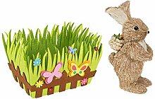 Colour-Sream Osterkorb mit Schmetterlingen, aus