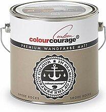 colourcourage L709449567 Premium matt Shore Rocks