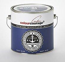 colourcourage L709449585 Premium matt Navy Blue