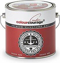 colourcourage L709449587 Premium matt Dansk Rød