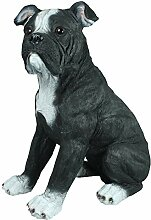 colourliving American Bulldog Figur Hundefigur