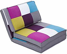 colourliving Klappmatratze Sessel Gästebett