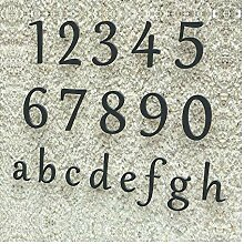 Colours-Manufaktur Hausnummer Klassisch 0-9 und