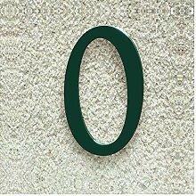 Colours-Manufaktur Hausnummer Nr. 0 - Schriftart: