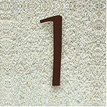Colours-Manufaktur Hausnummer Nr. 1 - Schriftart: