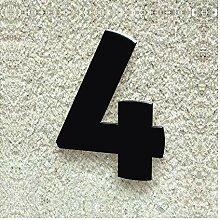 Colours-Manufaktur Hausnummer Nr. 4 - Schriftart: