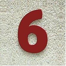Colours-Manufaktur Hausnummer Nr. 6 - Schriftart: