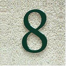 Colours-Manufaktur Hausnummer Nr. 8 - Schriftart:
