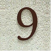 Colours-Manufaktur Hausnummer Nr. 9 - Schriftart: