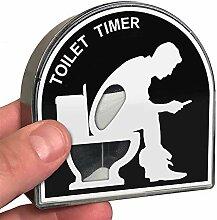 Coltum Toilette Timer,5 Minuten Sanduhr Timer,Wc