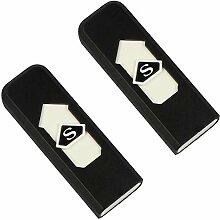 com-four® 2 USB Feuerzeuge, elektrisch, ohne