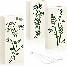 com-four® 3X Luftbefeuchter aus Keramik -