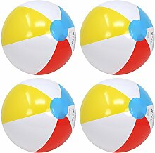 com-four® 4X Wasserball, Beachball in