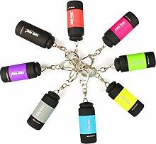 com-four® 8X USB Mini LED Taschenlampe