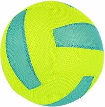 com-four® Aufblasbarer Stoff-Wasserball als