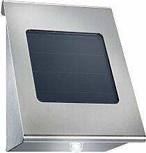 com-four® LED Solarlampe Wandstrahler Strahler